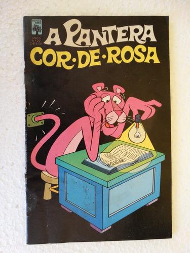 a pantera cor de rosa nº 20! editora abril jul 1977! leia!