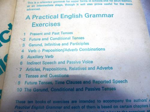 a practical english grammar - exercise 1 to 8 - oxford
