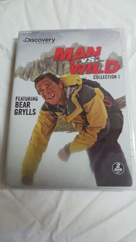 a prueba de todo man vs wild temporada 1 uno serie dvd