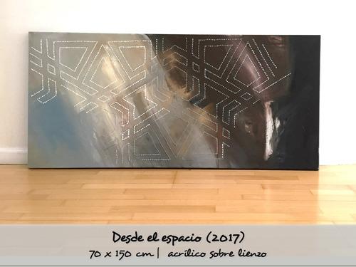 a r t_ t h er a p y   cuadros abstractos 70x150