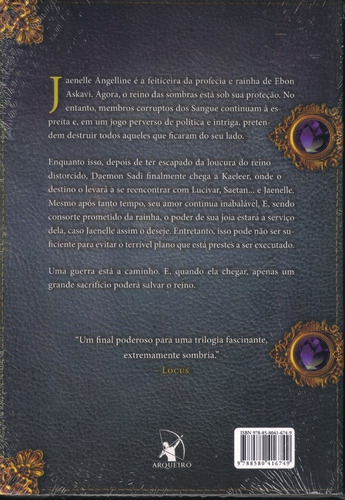a rainha das trevas - trilogia das joias negras - livro 3 /