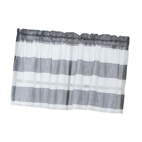 a rayas corto doselera de rod bolsillo cortinas cocina venta
