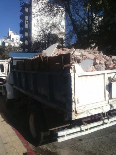 a retiro ecombros tierra basura podas excavacio demolicion