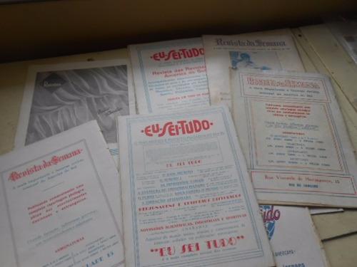 a scena muda  anos 30 lote fechado 11 revistas cinema raro