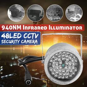 A Segurança Infrared Visão Noite Iluminador 48led 940nm Luze