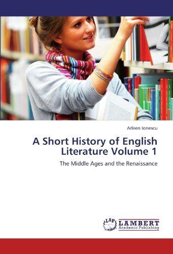 a short history of english literature volume 1; envío gratis