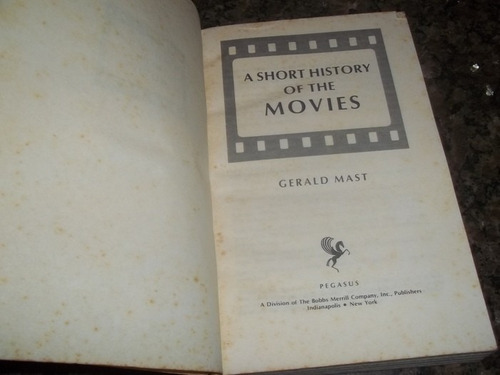 a short history of the movies  gerald mast ano 1971