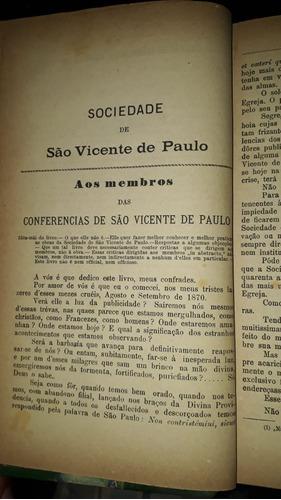 a sociedade de são vicente de paulo - tomo 1 - ano 1892