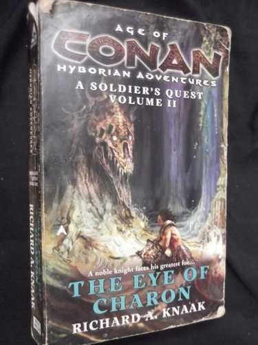 a soldier quest trilogy age of conan richard knaak en ingles