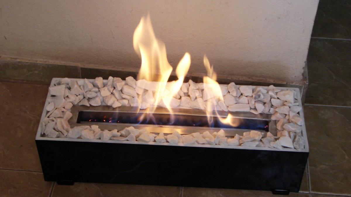 A solo 150mil chimenea bio etanol con base imitaci n - Combustibles para chimeneas ...
