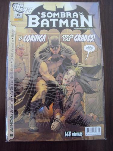 a sombra de batman # 6 - dc comics - panini