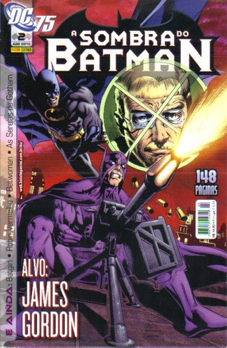 a sombra do batman nº 2 - ago/2010 - dc - panini comics
