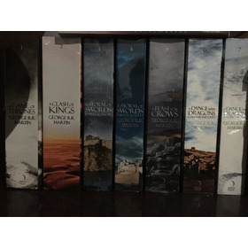 A Song Of Ice And Fire (game Of Thrones) - 7 Livros