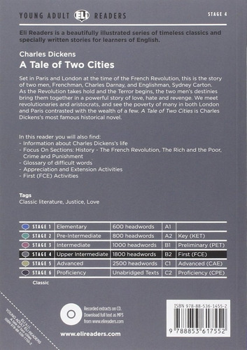 a tale of two cities - charles dickens - hub stage 4
