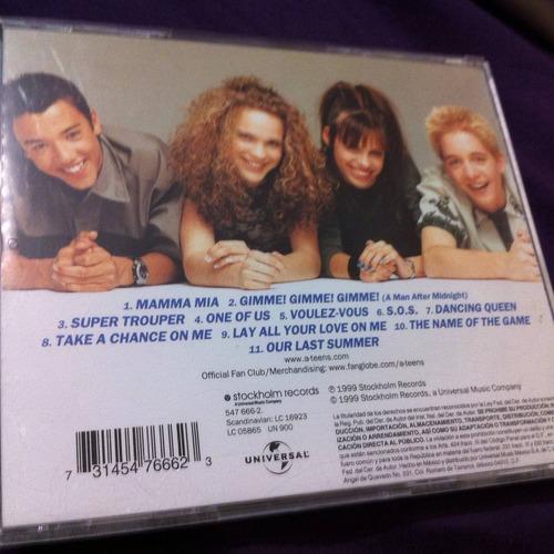 a-teens the abba generation 12 tracks ed. mexicana