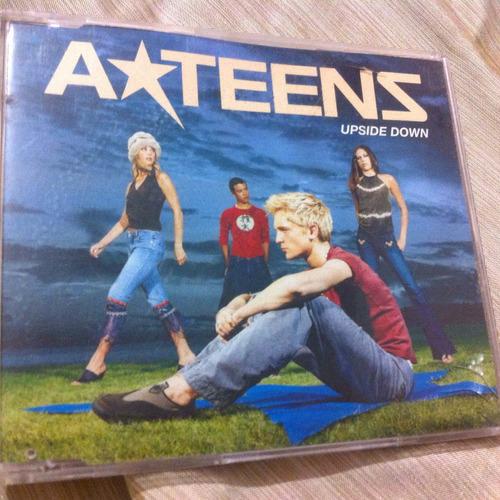 a-teens upside down single 4tracks importado de inglaterra