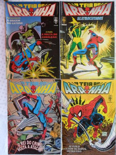 a teia do aranha! ed. abril 1989! r$ 7,00 cada!