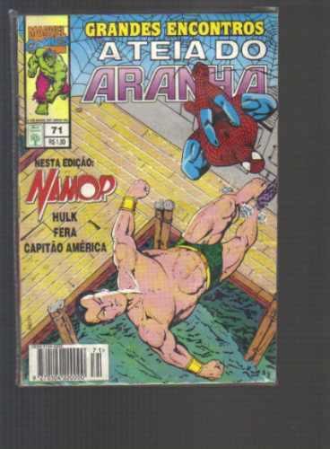 a teia do aranha numero 71 - editora abril