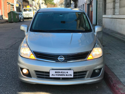 a tiida 2012 1.8 extra full caja de sexta el mejor del pais!