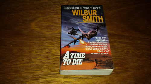 a time to die - wilbur smith - livro novo