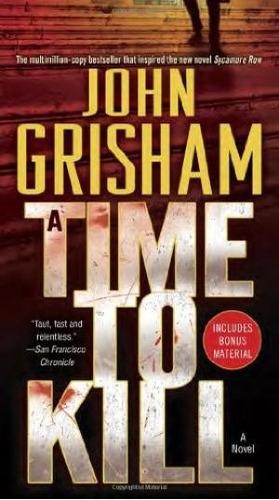 a time to kill - john grisham - bantam books - rincon 9