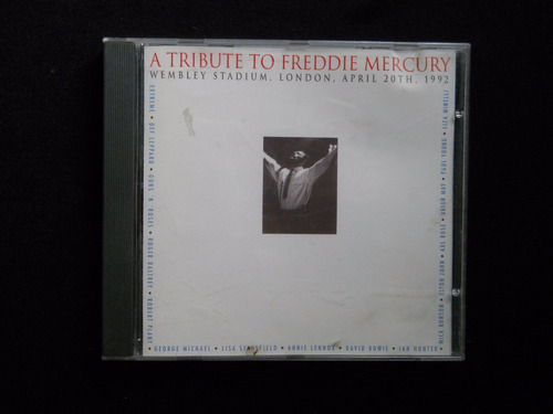 a tribute to freddie mercury - cd importado