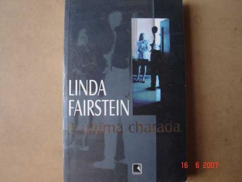 a ultima charada    linda fairstein n7