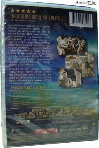 a um passo da eternidade dvd novo lacrado romance dublado