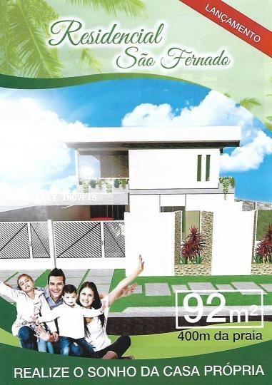 a venda em itanhaém, balneário jd. são fernando, 3 dormitórios, 1 suíte, 2 banheiros, 4 vagas - rb 0324