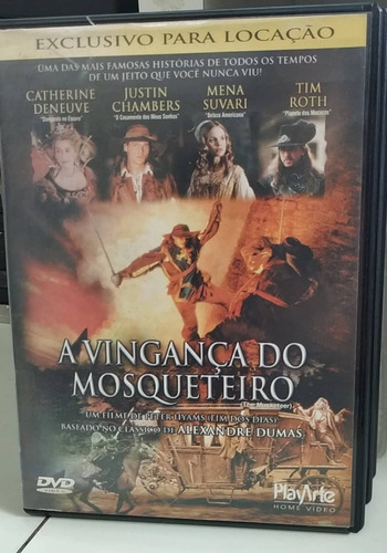a vingança do mosqueteiro -dvd