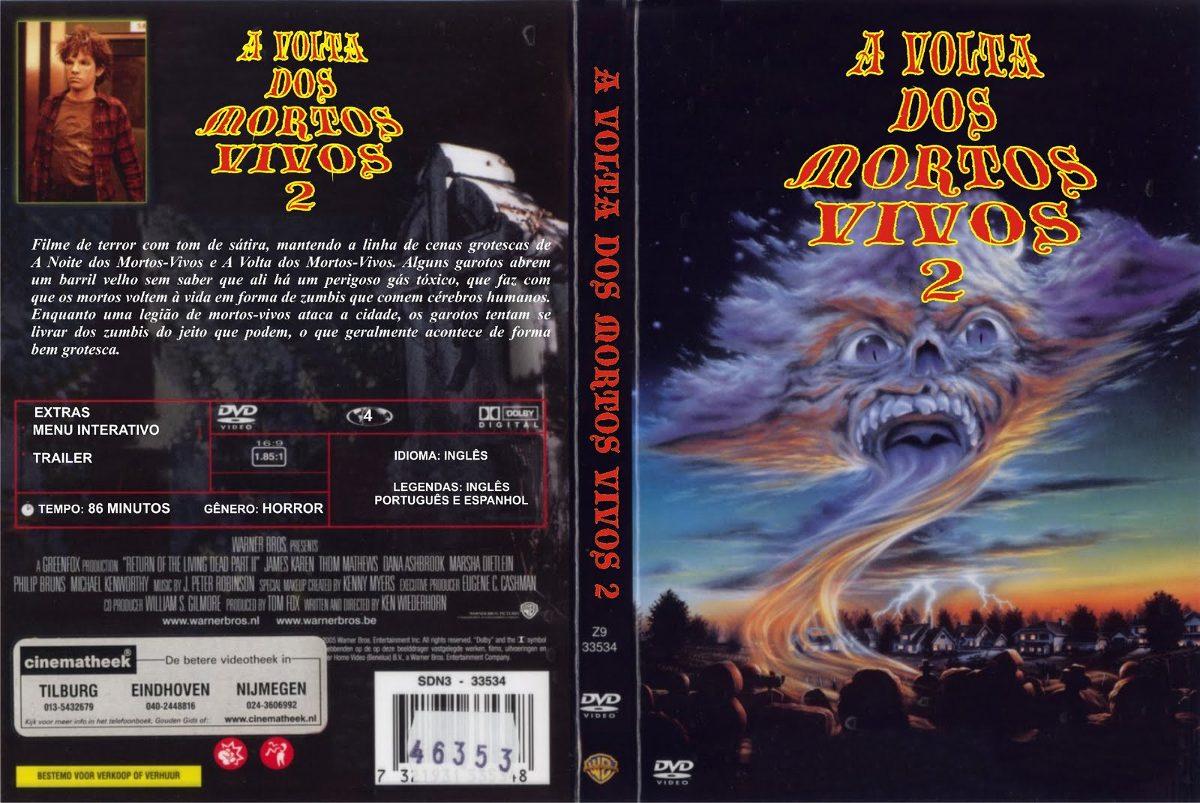 Filme Mortos Vivos throughout a volta dos mortos vivos coleção filmes 1, 2, 3, 4 e 5 - r$ 29,00