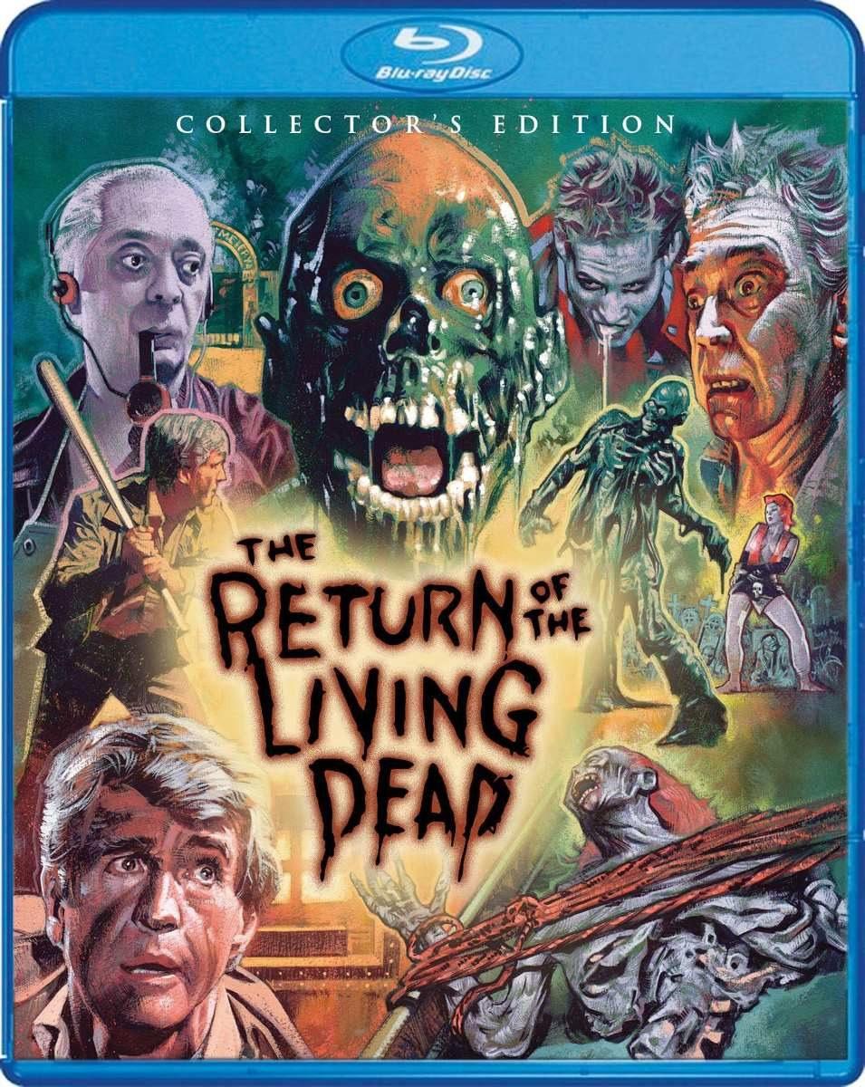 Filme Mortos Vivos in a volta dos mortos vivos- os 4 filmes - bluray - r$ 99,90 em