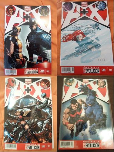 a+x!!! 1-12  marvel now comics.increible completa historia