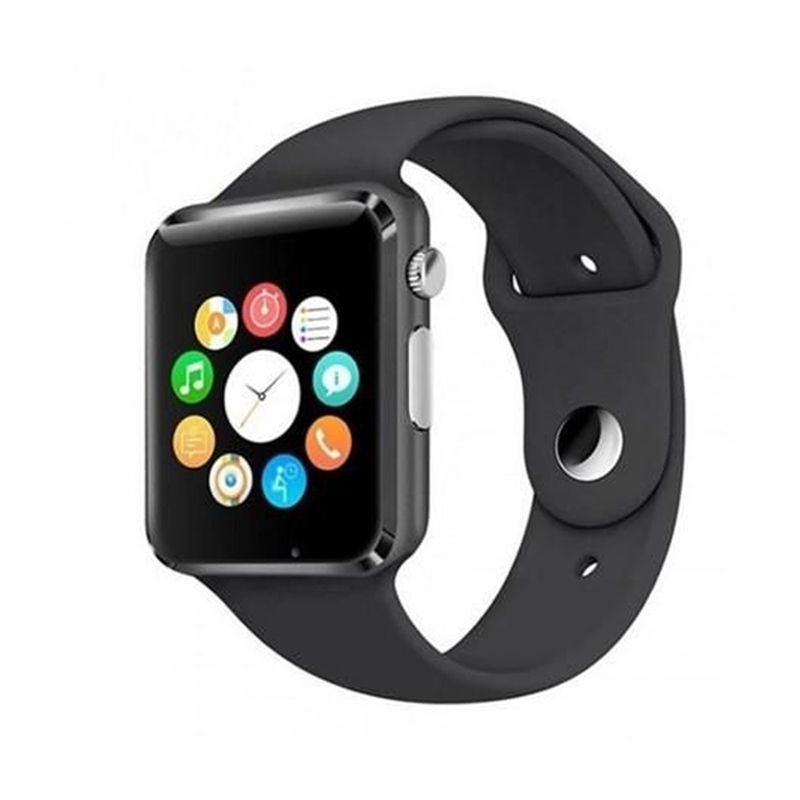 93c1ef379fa A1 Relógio Inteligente Smart Watch Bluetooth Chip Android S7 - R ...