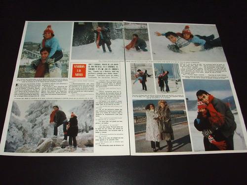 (a114) enrique y ana * revistas recortes clippings (1980)
