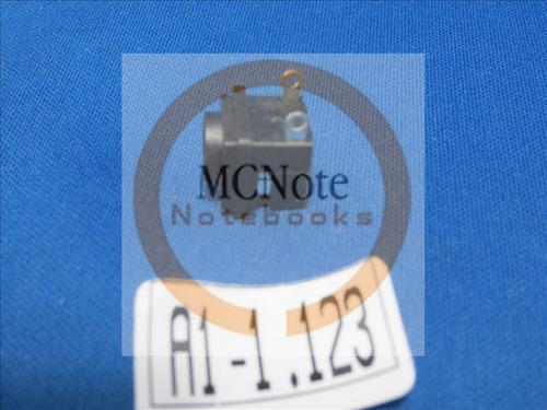 a123 conector jack dc plug notebook sony vaio vgn-cr510ep