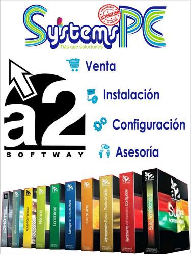 a2 softway asesorías - venta - soporte