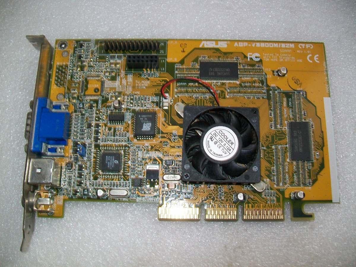 NVIDIA TNT2 Model 64 card comparison ASUS AGP-V3800 Magic and Leadtek S325