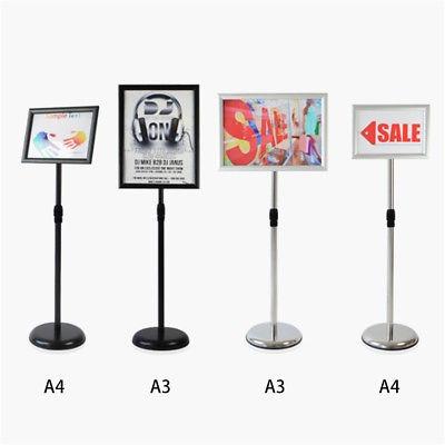 a3 a4 pedestal ajustable señal piso de... (a3, silver)