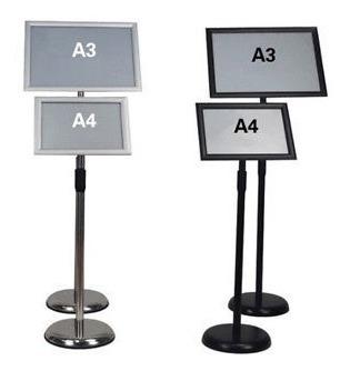 a3 a4 pedestal muestra piso soporte... (a4 (12 x9.)