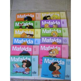 A3 Coleccion 12 Libros Mafalda- Quino Nuevo + Envio Gratis