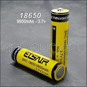 A64 2 Pilas 18650 Recargable 9900 Mah 3.7v  Bateria Pila New