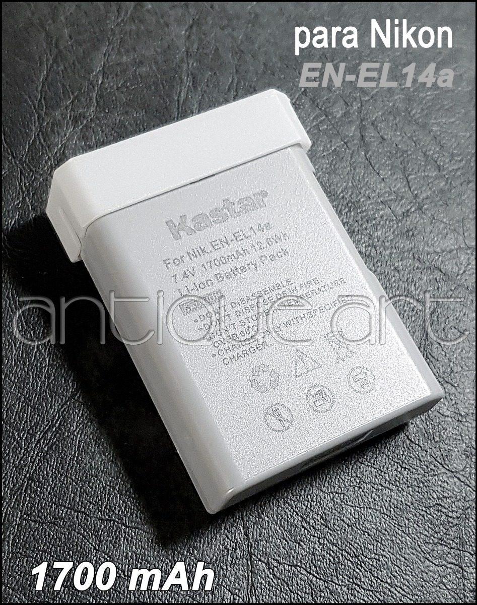 A64 Bateria En-el14a Para Nikon D5600 D5300 D5200 D5100 3300