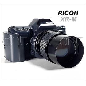 A64 Camara Ricoh Xr-m Lente 135mm 2.8 Analoga 35mm