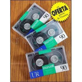 A64 Cassette Normal Audio Maxell Ur 90 60 Sellados Deck Kct