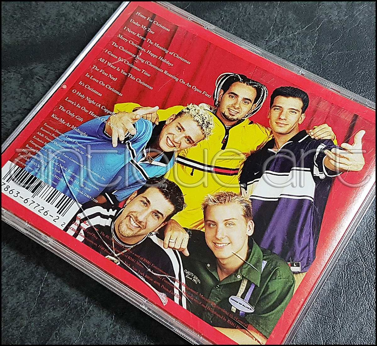 A64 Cd Nsync Home For Christmas ©2000 Pop Musica Navidad - S/ 35,00 ...