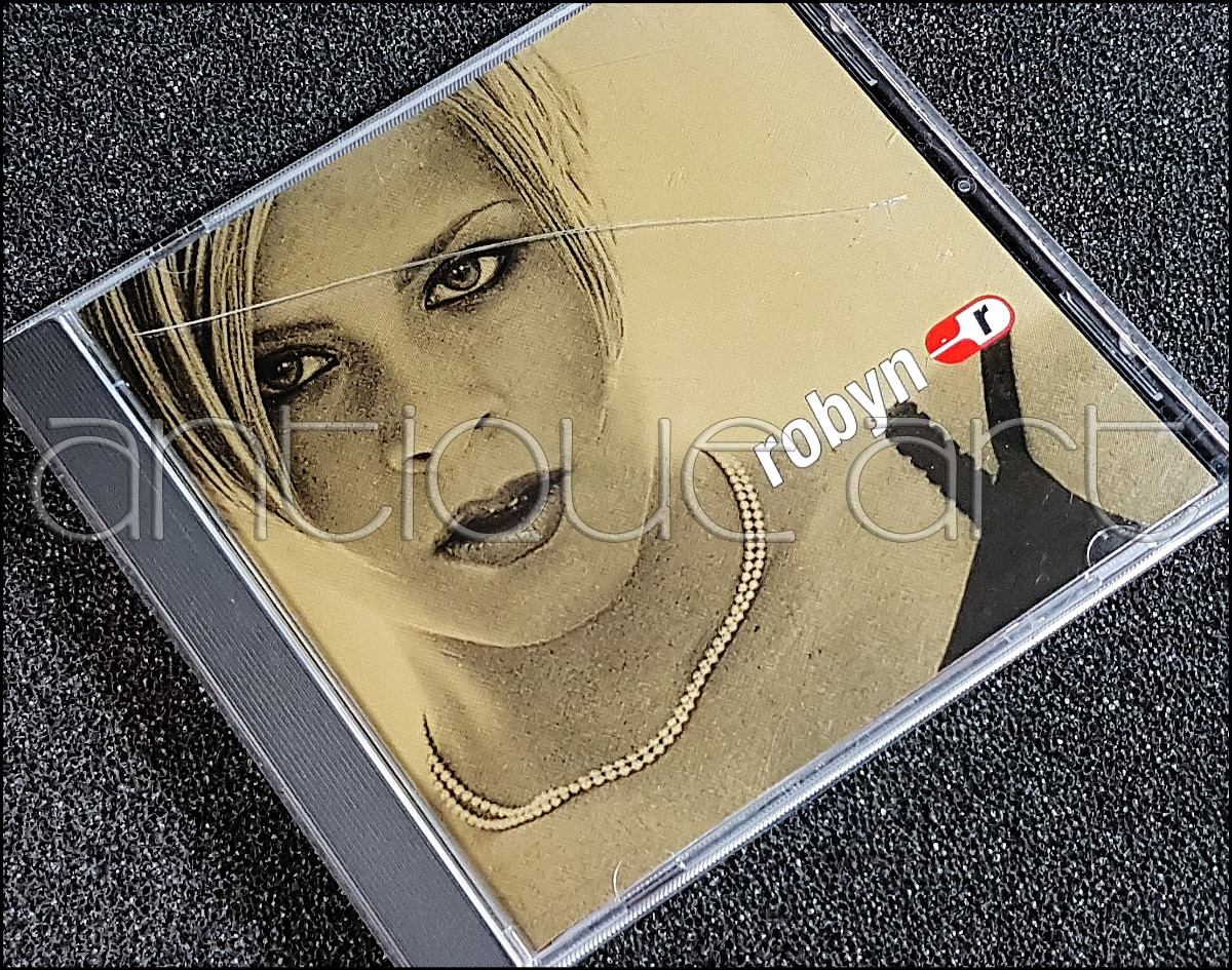 A64 Cd Robyn Is Here ©1997 Album Debut Euro Pop Ballad - S/ 35,00