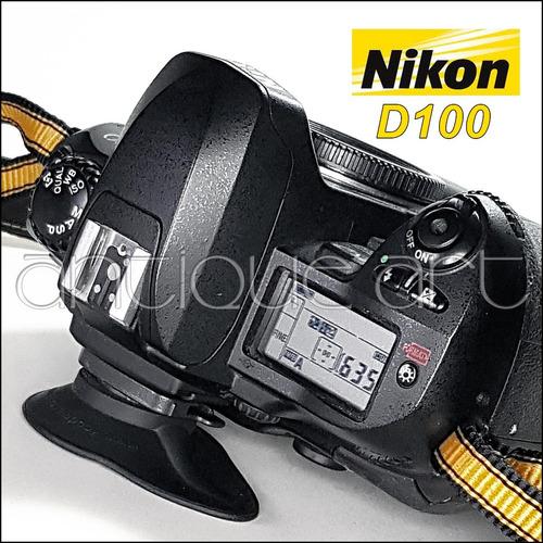 a64 nikon d100 cuerpo + battery grip charger bateria y otros
