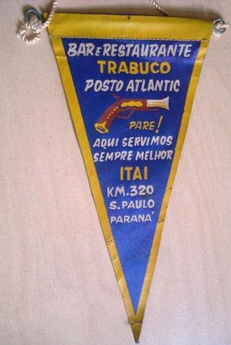 a6552 flamula do restaurante trabuco de itai paraná, com 16