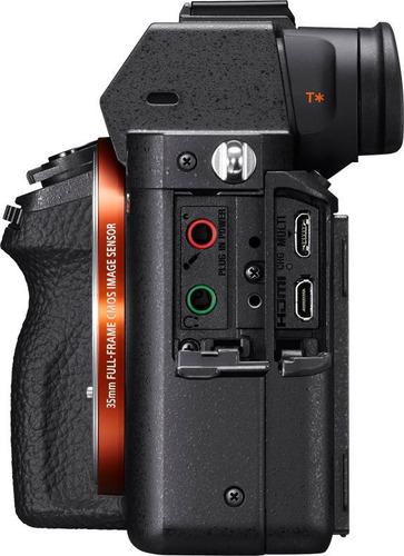 a7r ii con sensor de imagen full-frame con retroiluminación